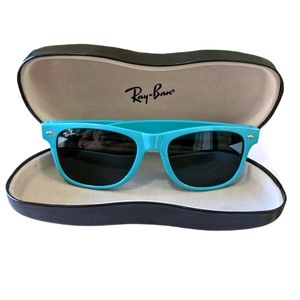 Teal Blue Unisex Sunglasses